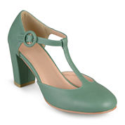 Journee Collection Talie T-Strap Pumps
