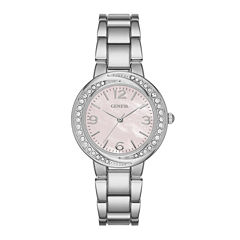 Geneva Womens Pink Twist Dial Watch