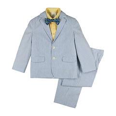 IZOD® 4-pc. Seersucker Suit Set - Toddler Boys 2t-5t
