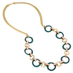 Boutique + Womens Link Necklace