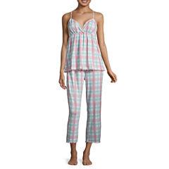Pj Couture Jersey Pant Pajama Set-Juniors