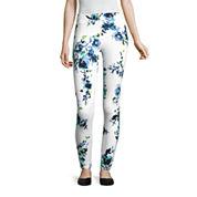Mixit Floral Print Knit Leggings