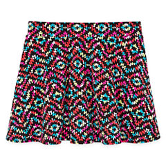 Total Girl Knit Skater Skirt - Big Kid Girls
