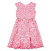 Marmellata Fit & Flare Dress - Big Kid Girls