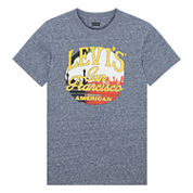 Levi's Short Sleeve T-Shirt-Big Kid Boys