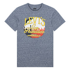 Levi's Short Sleeve Crew Neck T-Shirt-Big Kid Boys