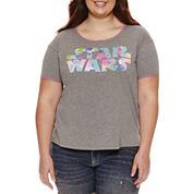 Star Wars Graphic T-Shirt- Juniors Plus