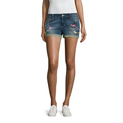 Arizona Denim Shorts-Juniors