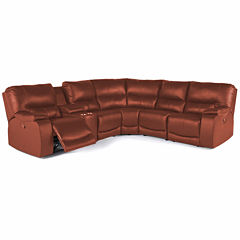 Wallace 6Pc Power Sectional