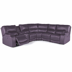 Motion Possibilities Wallace 6Pc Power Sectional