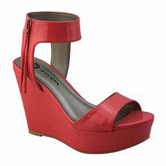 Michael Antonio Amus Womens Wedge Sandals