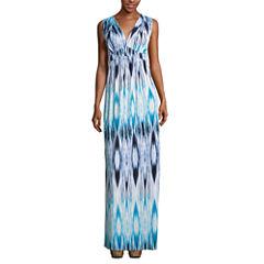 a.n.a® Sleeveless Empire-Waist Maxi Dress