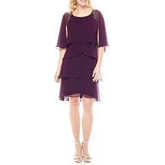 Scarlett Sleeveless Embellished Shift Dress