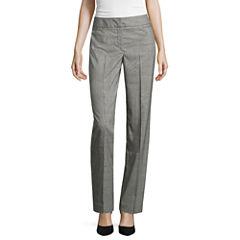 Liz Claiborne Straight Fit Trousers Talls