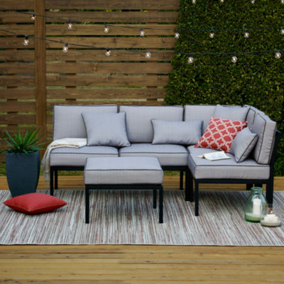 Marvelous Outdoor Oasis™ Palm Beach 4pc Sectional