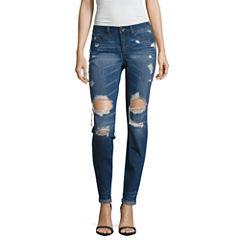 Tyte Destructed Classic Fit Jeans-Juniors