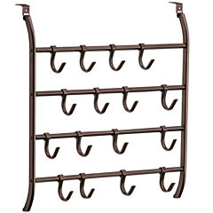 Lynk® Over-Door 16-Hook Accessory Organizer