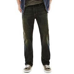Arizona Basic Relaxed Straight Jeans