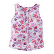 OshKosh B'gosh® Cotton Tank Top - Preschool Girls 4-6x