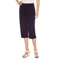 Alfred Dunner Seas The Day Capris