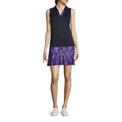 Made For Life Golf Polo Tank Top or Geometric Golf Skorts