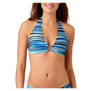a.n.a® Mix & Match Striped Ombre Halter Swim Top