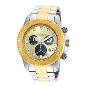 Invicta® Pro Diver Mens Two-Tone Stainless Steel Bracelet Watch