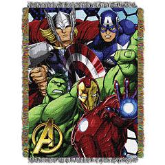 Avengers Tapestry Throw