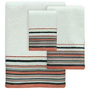 Bacova Portico Stripe Bath Towel Collection
