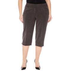 Worthington Plus Size Capris & Crops for Women - JCPenney