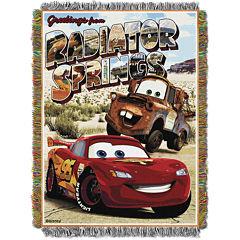 Disney Cars Tapestry Throw