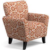 June Medallion Accent Chair