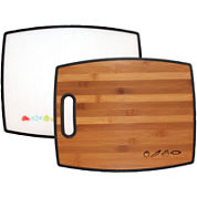 Totally Bamboo® Poly-Boo 2-Sided Cutting Board