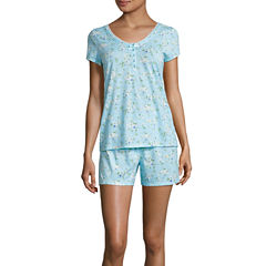 Adonna Shorts Pajama Set