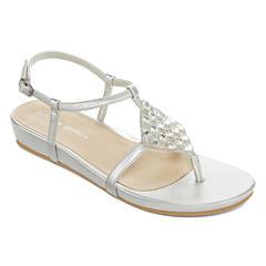 Andrew Geller Mareda Womens Flat Sandals