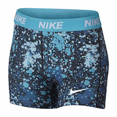 Nike Compression Shorts - Big Kid Girls