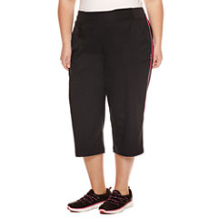 Made For Life Woven Capris - Plus