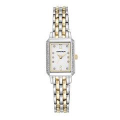Armitron® Womens 5411 Two-Tone Bracelet Watch