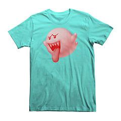 Super Mario Boo Short-Sleeve Tee
