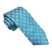 Stafford® Marco Bay Shiny Neat Silk Tie - Slim