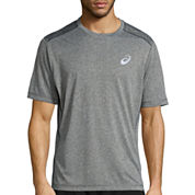 Asics® Short-Sleeve Conqueror Printed Tee