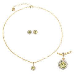 Monet Jewelry Womens 2-pc. Yellow Jewelry Set