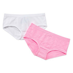 Maidenform 2-pk. Girlshort Panty-Big Kid Girls