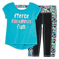 Rbx 3-pc. Legging Set-Preschool Girls