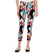Mixit™ Print Knit Cropped Leggings - Petite
