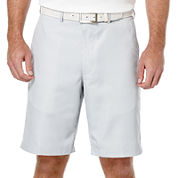 PGA TOUR® Printed Gingham Flat-Front Shorts