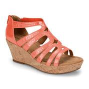 Comfortiva Redmond Strappy Wedge Sandals
