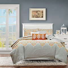 Madison Park Leah Quilted 6-pc. Coverlet Set