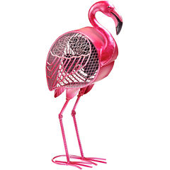 Deco Breeze Flamingo Figurine Fan