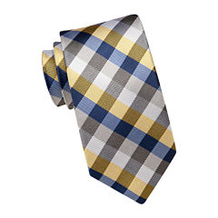 Stafford® Core Gingham Tie